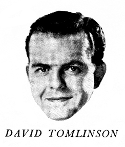 photo of David Tomlinson from the Australian record cover