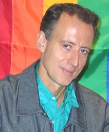 Peter Tatchell photo and link to his website (59K)