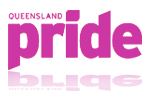 Queensland Pride logo and link to their website